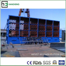Side-Part Insert Flat-Bag Dust Collector-Induction Furnace Air Flow Treatment
