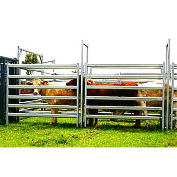China Painéis de cerca de aço carbono de serviço de esgrima de vaca barato barato vaca cerca facilmente montados