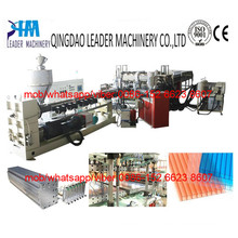PC PP PE Hollow Sheet Grid Plate Extrusion Line