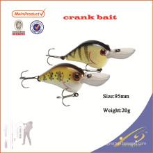 CKL020 novo equipamento de pesca pequeno plástico rígido manivela isca de pesca isca