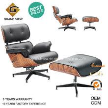Chaise Eames Design pivotant cuir Lounge (GV-EA670)