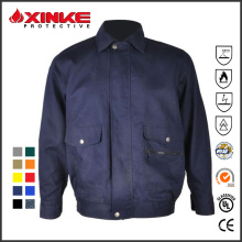 Excellent flame resistant insect-repellent jacket for PPE field