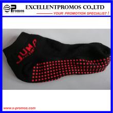 2015 promocional moda deportiva antideslizante personalizado calcetines (EP-S58401)