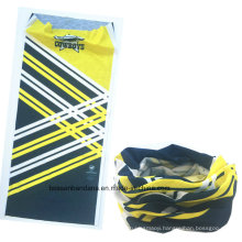 OEM Produce Custom Design Printed Promotional Microfiber Elastic Sports Seamless Tube Magic Buff Headwear