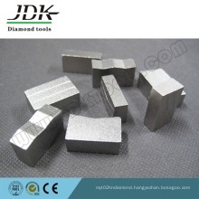 Grooved Type Diamond Segment for Cutting Granite