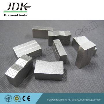 K, M, << Алмазный сегмент формы для режущих инструментов из гранита