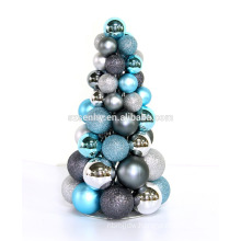 tabletop metal decorated christmas trees for sale
