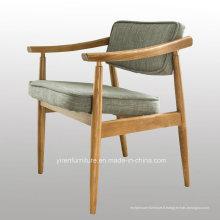 Chaise de salle à manger Retro Flow avec coussin en PU
