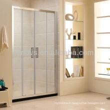 doubles portes coulissantes en verre coulissantes faites en Chine