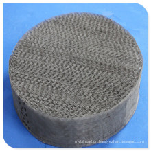 Metal Structured Tower Packing: Perforated Plate Corrugated Packing