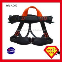 HN-AD02 Adulte Personnalisé L'alpinisme Escalade Sécurité Fabriqué à Taïwan Waist Harness