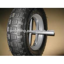 Cheap 4.80/4.00-8,3.50-8 rubber wheel ,Pneumatic wheels ,solid wheels ,wheelbarrow wheel