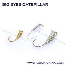 Wolfram Ice Jig Big Eyes Catepillar