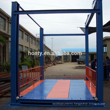 CE SGS approved Cheapest price vertical cargo lift manual platform lift