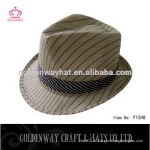Chapeaux de fedora de polyester promotionnels les moins chers