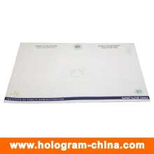 Custom Security Hot Stamping Foil Watermark Certificate