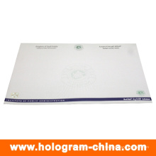 Custom Security Hot Stamping Foil Certificate