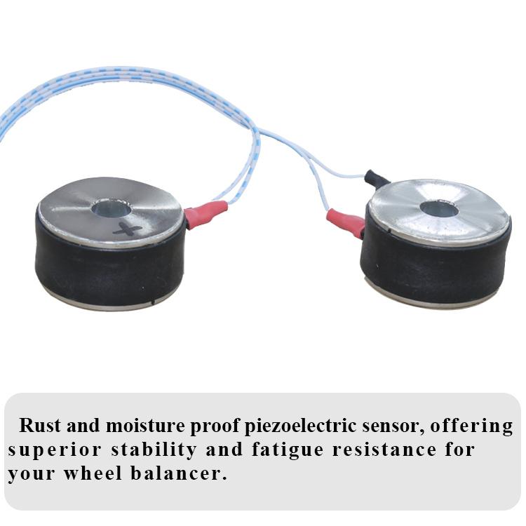 wheel balancer dynamic sensor