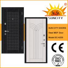 Puertas de acero antirrobo con cerraduras turcas (SC-A205)