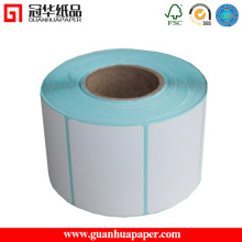 Thermal Transfer Label or Glossy Label Sticker Roll