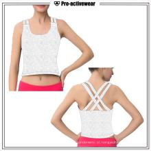 Custom Sportswear Mulheres Workout Gym Tank Top Vestuário Fitness por atacado