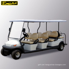 Excar 8 passengers electric golf cart, electric sightseeing bus, electric shuttle bus