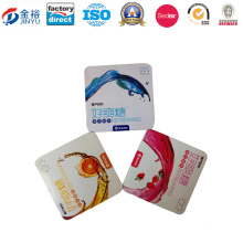 Irregular Shaped Metal Food Packaging for Chewing Gum