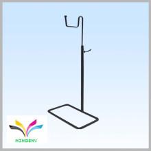 Single Hook Adjustable metal purse hanging bag display stand