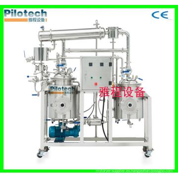 Mini equipo de extracción de aceite esencial de escala con alta calidad