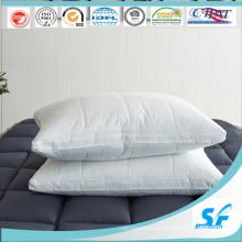 Conjunto de travesseiro acolchoado de penas de fábrica de roupa de cama de Hangzhou