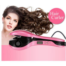 Hot Sale Negative Ions Pink Automatic Hair Curler