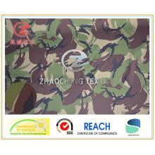 Spandex 150d da impressão da camuflagem da trama do estilo de Inglaterra para o uso militar (ZCBP004)