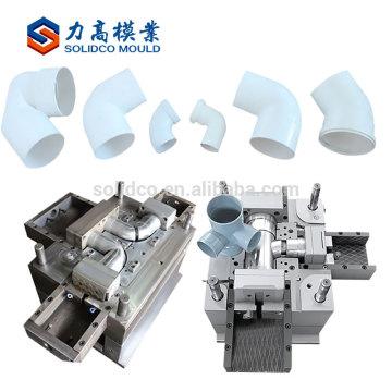 Moldes de encaixe de tubulação plástica de bom fabricante de moldes de injeção de produto