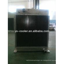 Refrigerador de aceite marino de aleta de placa para la industria