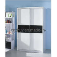 Diseño de armario MDF de melamina (WR-11002)