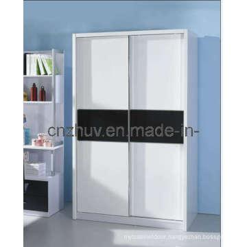 Melamine MDF Wardrobe Design (WR-11002)