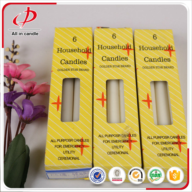 White Stick Candle 266