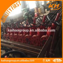 KH API 6A drill wellhead 70 Mpa Valises d'arbre de Noël