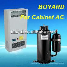 Boyang 12000Btu 1.5HP Hohe Kühlleistung Rotary Air Kompressor tragbaren Kondensator Kompressor für Aircon Hersteller