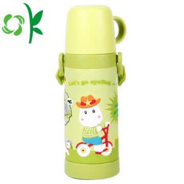 Silicone Custom Cartoon Waterproof Kinderen Bottle Sleeve