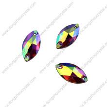 Venta caliente nuevo diseño de calidad superior Crystal Ab cose en diamantes de imitación