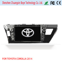 Auto DVD Spieler mit GPS Navigation Fortoyota Corolla 2014 (RHD)