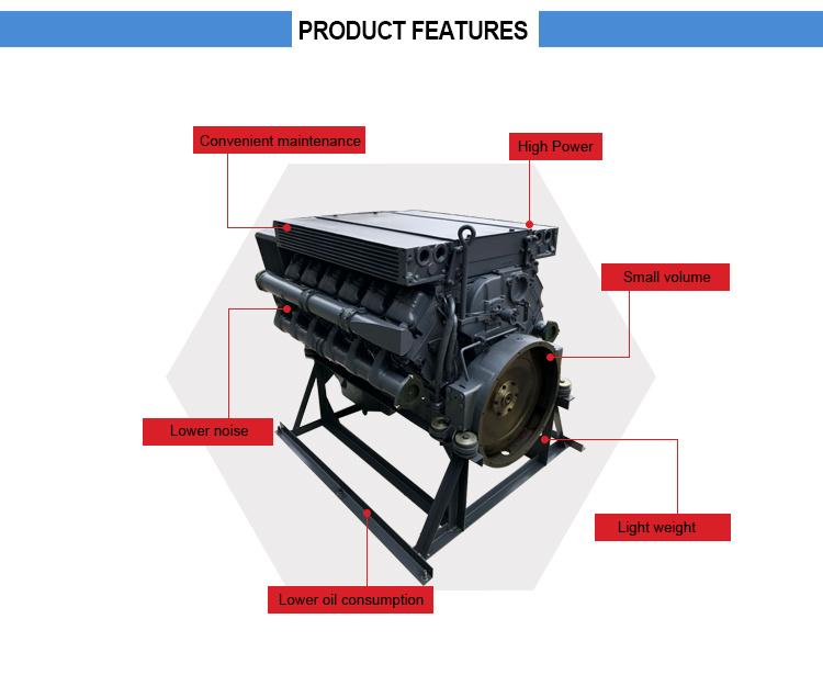 Detuz F12L413FW Diesel Engine set for Sale