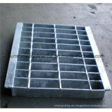 Laufsteg-Entwässerungstranch-Abdeckungsplattform Galvanisiertes Ablaufgitter