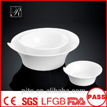 P&T porcelain factory round bowls, ceramics bowls, restaurant use