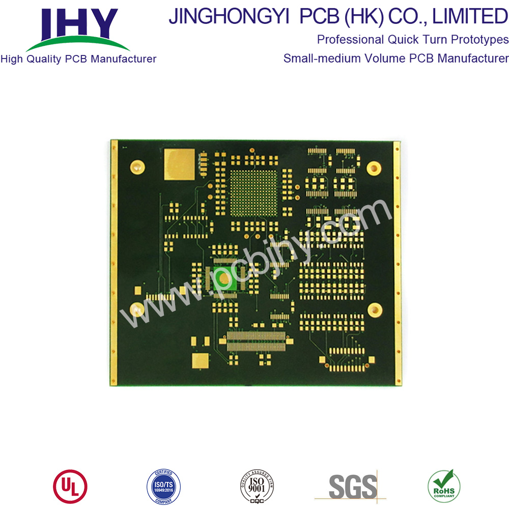Immersion Gold 1.6mm 1oz 10 Layer PCB