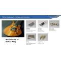 Nicht-Tremolo-Brücke für E-Gitarren-Teile