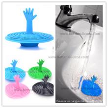 Moldeado nuevo diseño mejor baño de goma tapón de drenaje