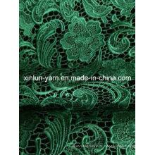Tecido de renda de tecido de mesa para toalha de mesa de casamento / vestido