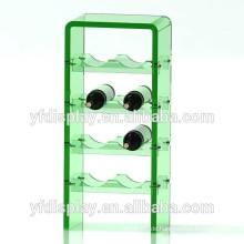 Grünes Acryl Wein Display Regal